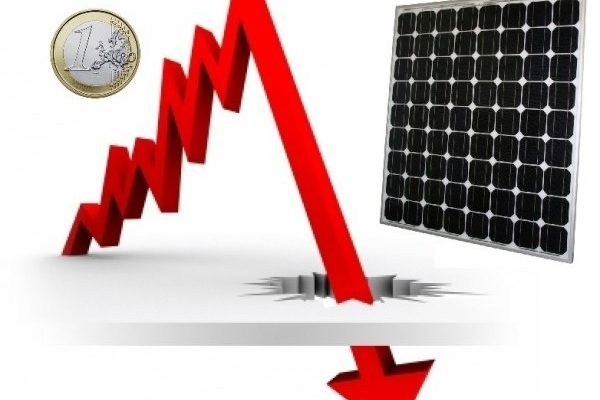 The low price of solar panels in Spain