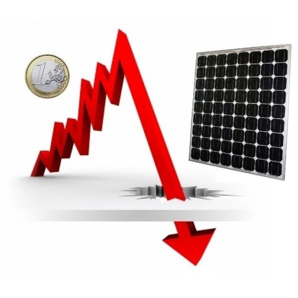 El bajo precio de los paneles solares en España