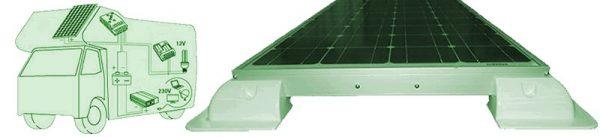 Cómo encontrar placas solares para mi caravana