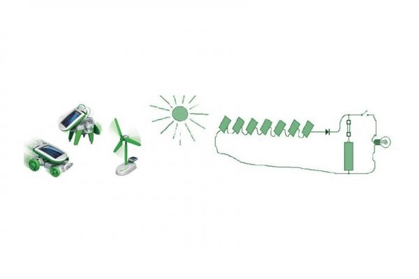 You know how to make a toy that works with solar energy?
