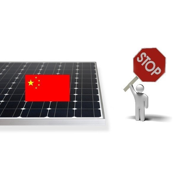 IMPORT TAXES ON PHOTOVOLTAIC MODULES FROM CHINA