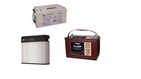 Diferencias entre tipos de baterías
