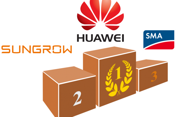 Top 3: Huawei, Sungrow y SMA. La española Power Electronics se acerca al podio